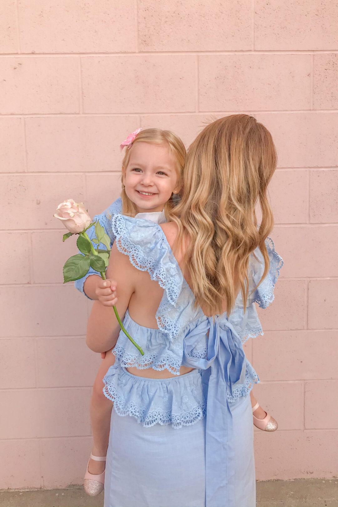 Blue Linen Dress 4