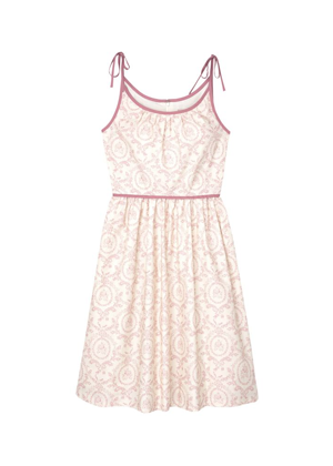 gal meets glam norah dress pink floral brookie