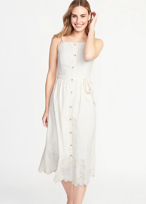 oldnavy brookie cream eyelet dress