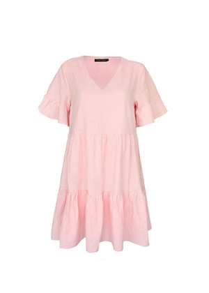 pink tiered dress brookie amazon