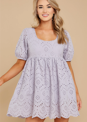 purple eyelet mini dress romper red dress brookie