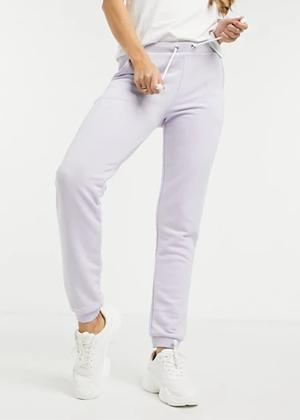 purple sweatpants joggers brookie asos