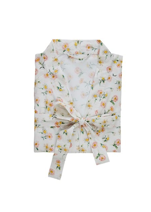 white floral robe bath adairs mothers day brookie orange
