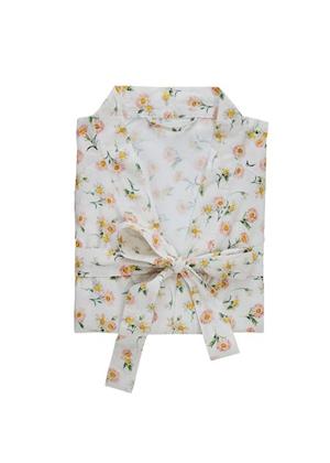 white floral robe bath adairs mothers day brookie orange