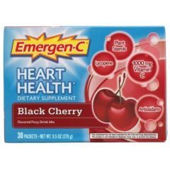 Alacer Emergen-C Heart Health Cherry 1000 mg 30 Count