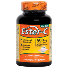 American Health Ester-C 500 Mg Vegetable 90 Tablets