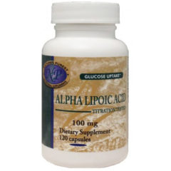 Nature's Purest Alpha Lipoic Acid (Thioctic Acid or ALA) 100mg - 120 Capsules