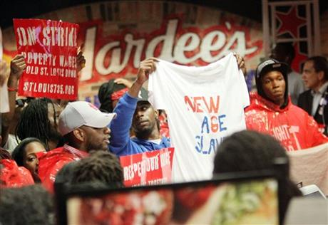 FAST-FOOD STRIKES SET FOR CITIES NATIONWIDE