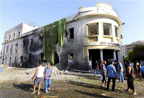LIBYA: CAR BOMB HITS FOREIGN MINISTRY IN BENGHAZI