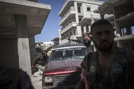 SYRIAN FIGHTER JETS BOMB REBEL-HELD AREAS IN NORTH