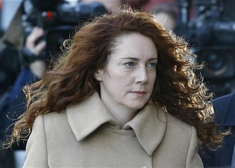 UK PHONE-HACKING TRIAL OPENS FOR TOP MURDOCH AIDES