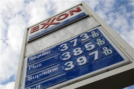Exxon Mobil's 3Q profit falls 18 percent