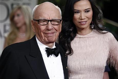 Rupert Murdoch, wife reach divorce deal in NYC