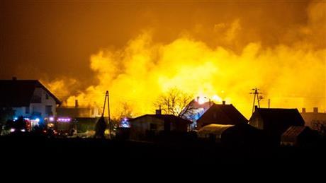 3 killed in gas pipeline blast in Poland