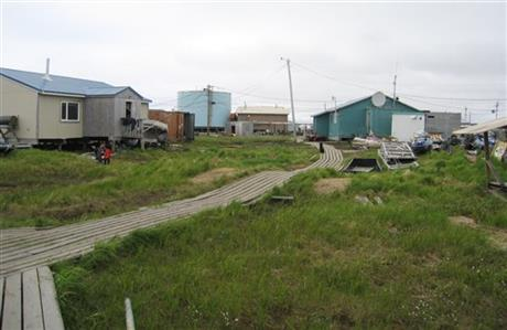 Tribal dispute puts Alaska village in limbo