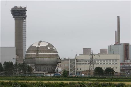 UK NUCLEAR STATION REPORTS ELEVATED RADIATION
