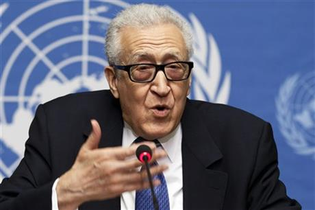 SYRIA PEACE TALKS IN DOUBT AFTER 6TH DAY IN GENEVA