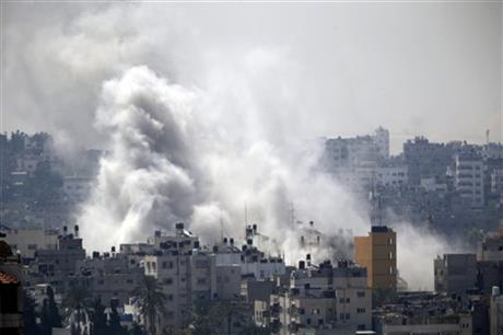 US PUSHES FOR TRUCE AS GAZA BATTLE RAGES