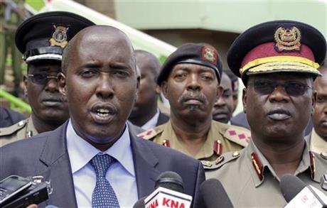Kenya security shakeup after extremist killings