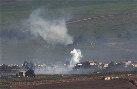 Lebanese Hezbollah hits Israeli convoy, killing 2 soldiers