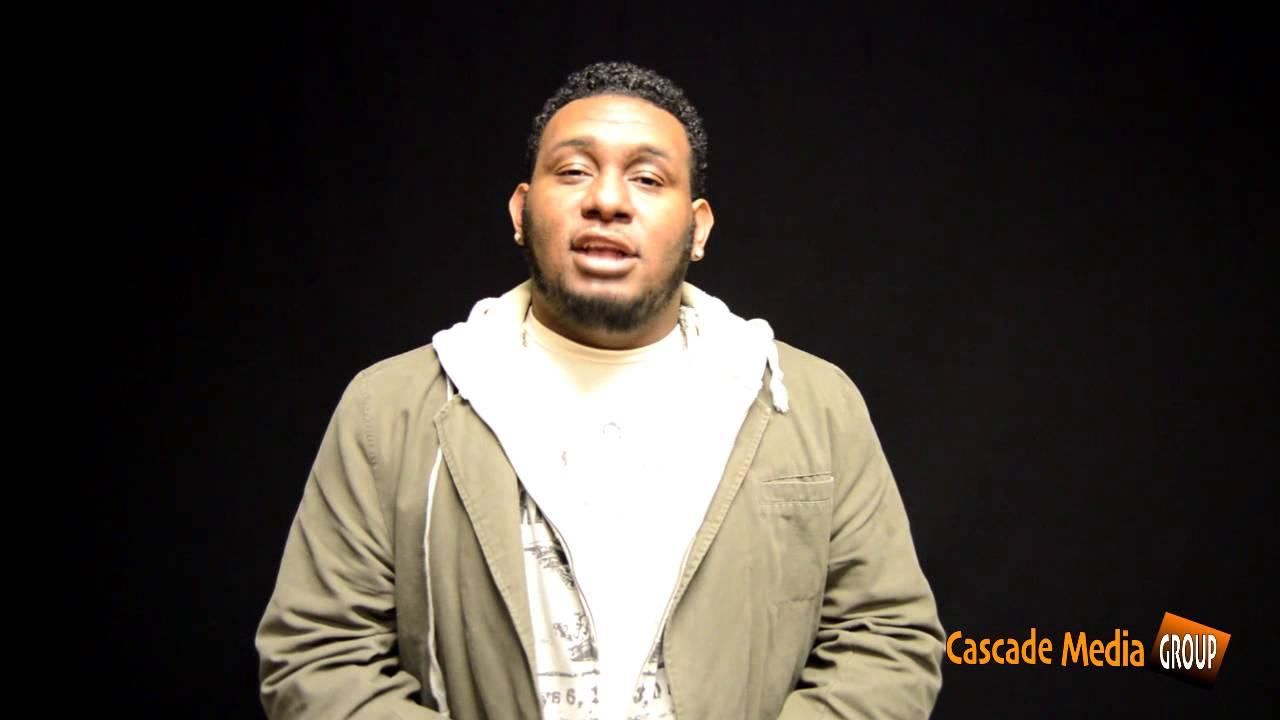 "Poet Brandon ""Amayzn"" Nelson Recites His Poem  Reflections"