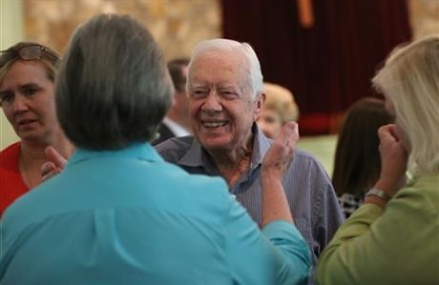Jimmy Carter to discuss cancer diagnosis publicly