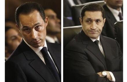 Jailed sons of deposed Egypt autocrat Mubarak to be freed