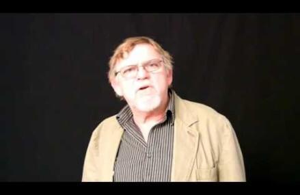 Poet David Arnold Hughes recites his poem  Angels