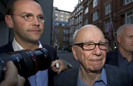 Rupert Murdoch's UK papers won't face phone hacking charges