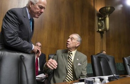 Cranking up pressure, Garland ready for first Senate visits