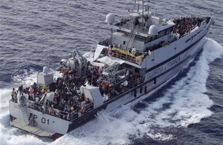 Libyan smuggling route grows 1 year after mass drownings
