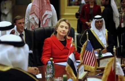 AP Analysis: Mideast showed Hillary Clinton US power's limit
