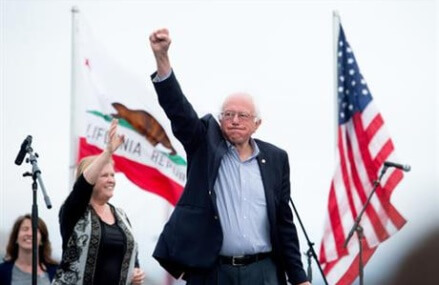 Sanders 'disappointed' and 'upset' at news of Clinton's win