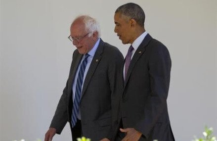 The Latest: Sanders wants his issues heard at convention