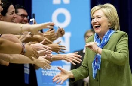 Charting a road to 270, Clinton sets out most efficient path