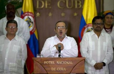 Permanent cease-fire taking effect in Colombia under accord