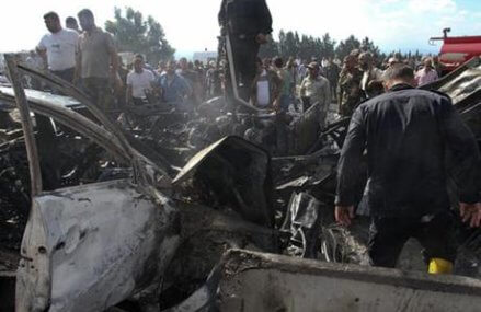 Wave of bombings in Syria claimed by IS kill at least 48