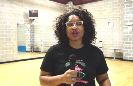 Interview with Chantell Garrett at  The HBCU Experience Youth Expo.