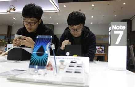 Samsung changes Note 7 output schedule after fire reports