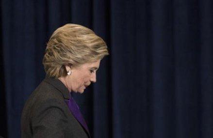 Clinton blames FBI director for presidential election loss