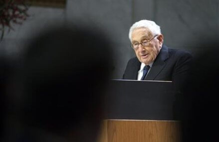 Kissinger asks for patience despite Trump's provoking ideas