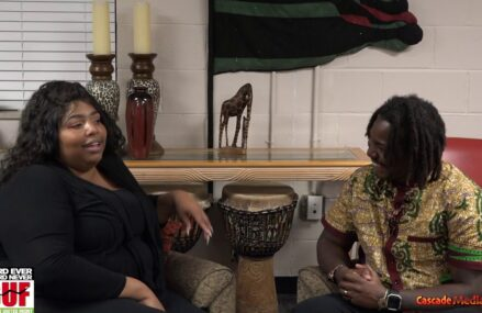 Interview With Poet Sherry Hall After She Recited A Poem At NBUF Umoja Karamu Ceremony