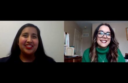 What's Up Latin America Series Host Jacquelyn Aguirre Interviews Desiree San Martin