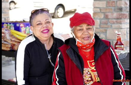 HEART OF THE CITY NEIGHBORHOOD ASSOCIATION And The Community Celebrating Women's Month At The Park Named After Senator Yvonne Starks Wilson