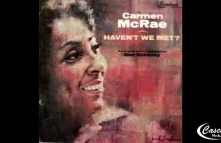 """JAZZ IN Black"" Cascade Media Group's New Jazz Series Shorts Featuring Carmen McRae  Album Covers"