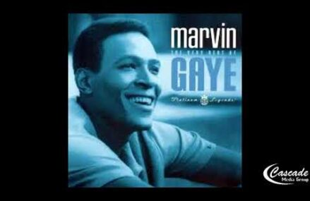 """""""R&B IN Black"""" Cascade Media Group's New R&B Series Featuring Marvin Gaye Albums Covers"""