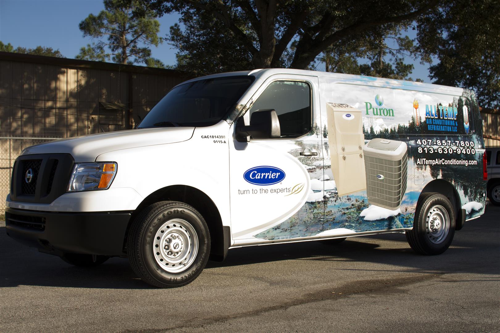 business-van-wrap
