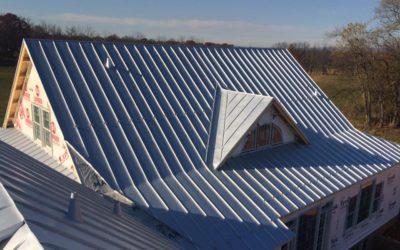 Standing seam roof in Charlestown, WV