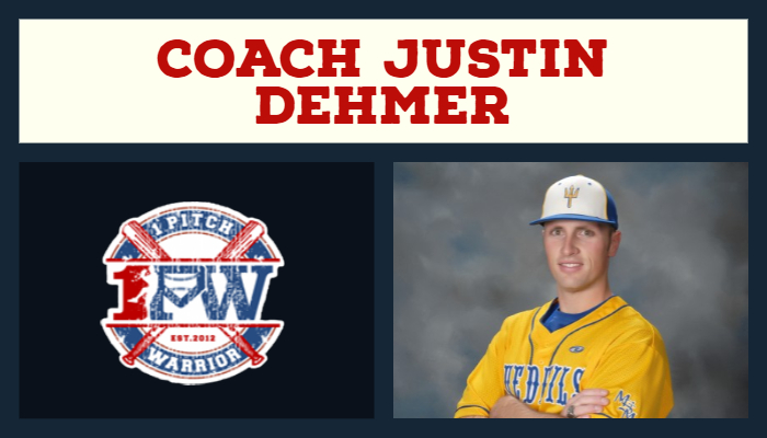 Coach Justin Dehmer joins Behind The Backstop Podcast