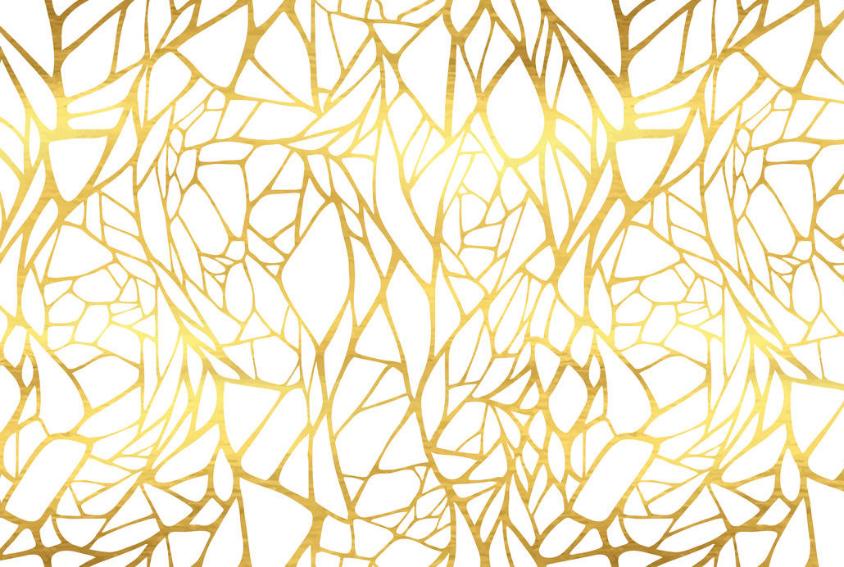 Gold Lattice Backdrop